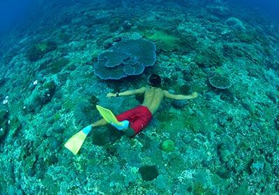 バリハイ 3島オーシャンラフティングクルーズ8