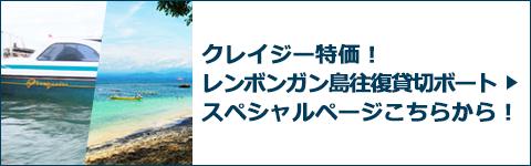 レンボンガン島往復貸切ボートスペシャルページバナー