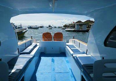 レンボンガン島往復貸切ボート10