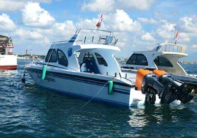 レンボンガン島往復貸切ボート8
