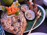 魚、エビ、貝、イカ