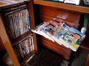 日本の雑誌も充実している