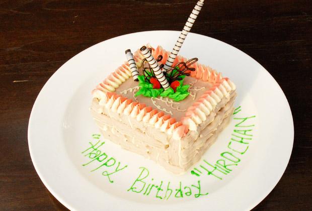 お誕生日プラン アナンタラ・バースデーケーキ
