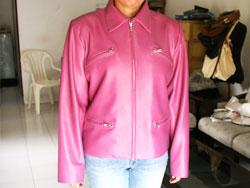 女性用革ジャケット