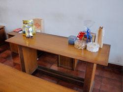 店内 テーブル席