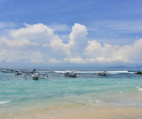 白砂のビーチリゾート