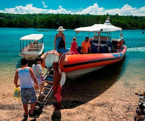 レンボンガン島・ペニダ島・チュニガン島の海