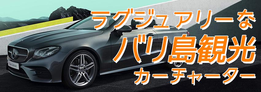 バリ島 厳選カーチャーター ベンツ E250クラスカブリオレ 特徴