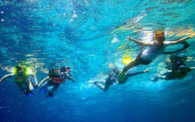 バリ島 厳選マリンスポーツ シュノーケリング 画像