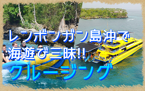 バリ島 厳選クルージング ボウンティ レンボガン島デイクルーズ 特徴