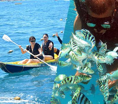 バリ島 厳選クルージング ボウンティ レンボガン島デイクルーズ 画像