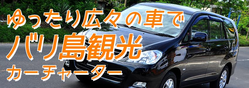 バリ島 厳選カーチャーター トヨタ イノヴァV 特徴