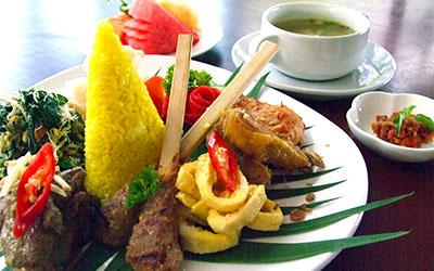 バリ島 厳選マリンスポーツ ディナー クマンギレストラン 画像