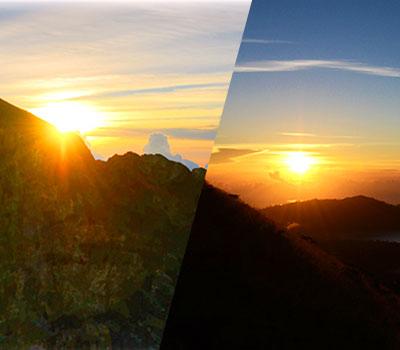 バリ島 厳選マリンスポーツ トレッキング 画像