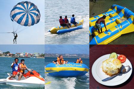 バリ島 厳選マリンスポーツ 5種類A 画像