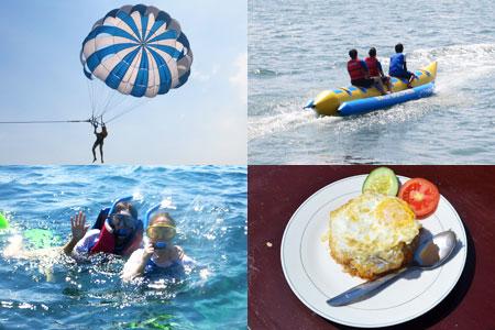 バリ島 厳選マリンスポーツ 3種パック 画像