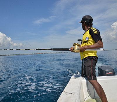 バリ島 厳選マリンスポーツ スポーツGTフィッシング 画像