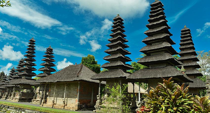 バリ島で最も優美な寺院・タマンアユン寺院
