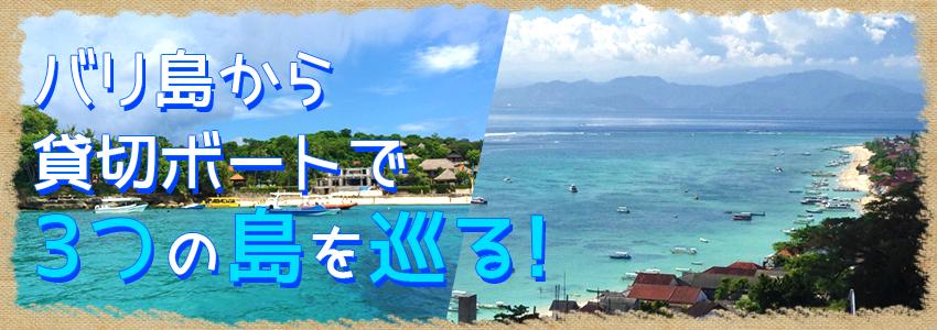 バリ島 厳選レンボンガン島 3つの離島巡り レンボンガン島、ペニダ島、チェニガン島 特徴