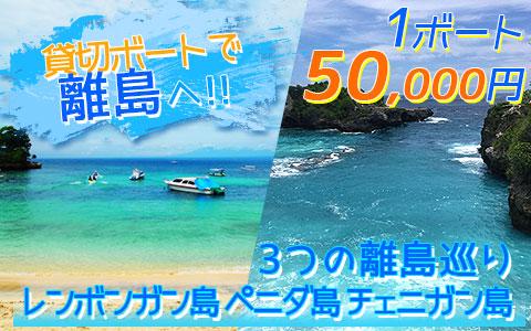 バリ島 厳選レンボンガン島 3つの離島巡り レンボンガン島、ペニダ島、チェニガン島