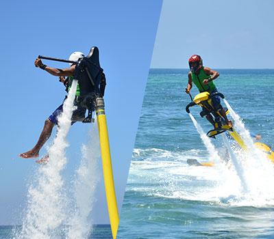 バリ島 厳選マリンスポーツ ジェットパック 画像