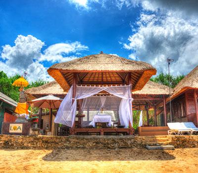 バリ島 厳選レンボンガン島 マングローブ林と体験ダイブ LOAマングローブビーチハウス 画像