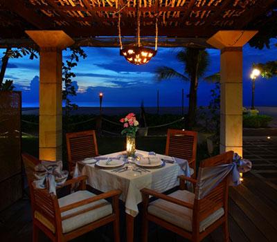 バリ島 厳選オプショナルツアー マジョリでロマンティックディナー 画像