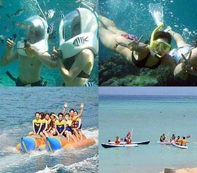 バリ島 厳選レンボンガン島 マリンウォーク 画像