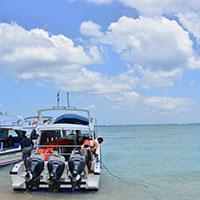 バリ島 レンボンガン島を出発