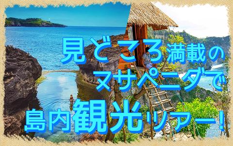 バリ島 厳選レンボンガン島 ヌサペニダアイランドツアー 特徴