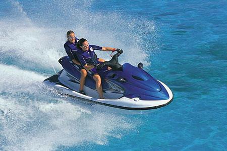バリ島 厳選レンボンガン島 ジェットスキー 画像