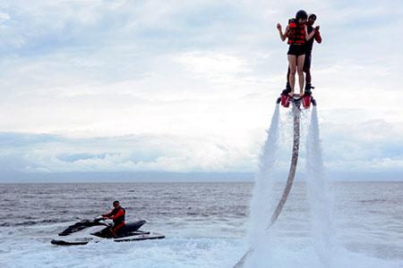 バリ島 厳選レンボンガン島 フライボード 画像