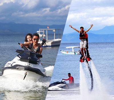 バリ島 厳選レンボンガン島 ヌサペニダでマリンスポーツ 画像