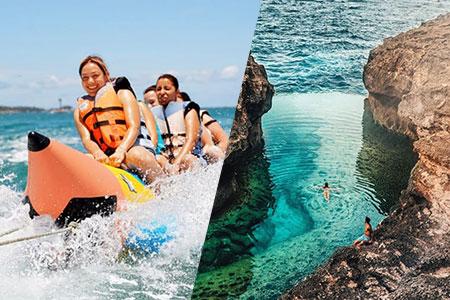 バリ島 厳選レンボンガン島 アイランドツアー+バナナボート 画像