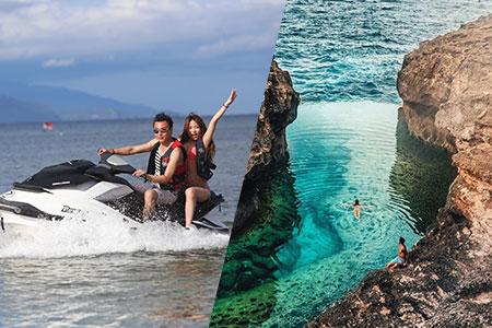 バリ島 厳選レンボンガン島 アイランドツアー+ジェットスキー 画像