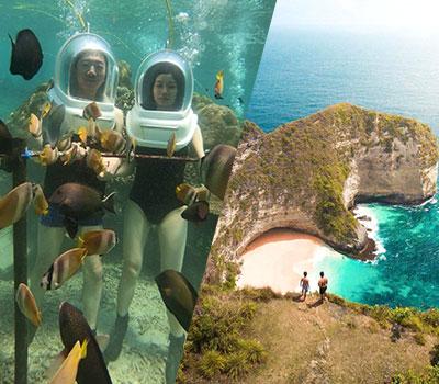 バリ島 厳選レンボンガン島 ヌサペニダアイランドツアー+シーウォーカー 画像