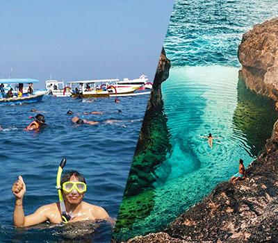 バリ島 厳選レンボンガン島 マンタポイントでシュノーケリングとヌサペニダアイランドツアー 画像