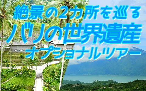 バリ島 厳選オプショナルツアー バリの世界遺産 パクリサン河川とキンタマーニツアー 特徴