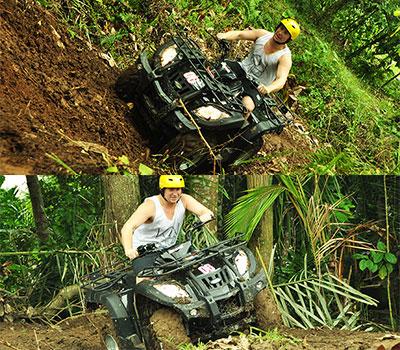 バリ島 厳選アクティビティ Pertiwi Quad Adventure ATVライド 画像