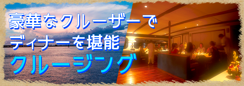 バリ島 厳選クルージング セイルセンセーション トワイライトクルーズ 特徴