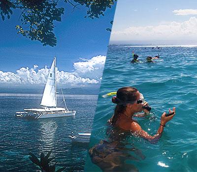バリ島 厳選クルージング セイルセンセーション デイライトクルーズ 画像