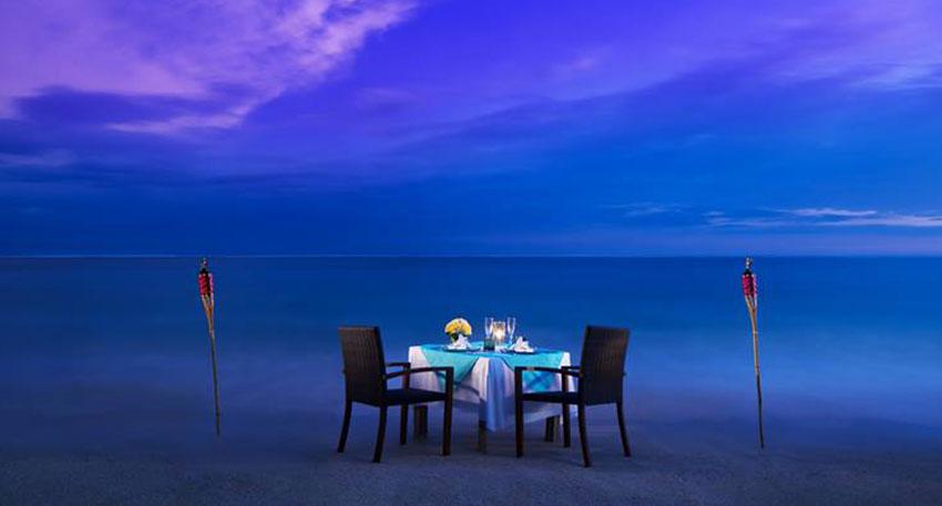 バリ島 サマベ ロマンチックディナー