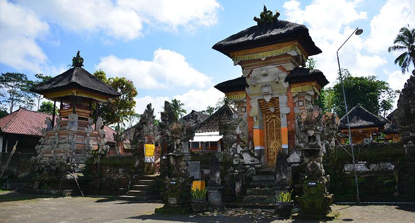 バリ島の伝統的な景色も楽しめます