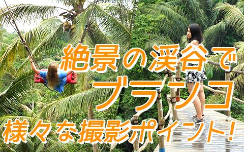 バリ島 厳選アクティビティ Uma Pakel Bali Swing 特徴