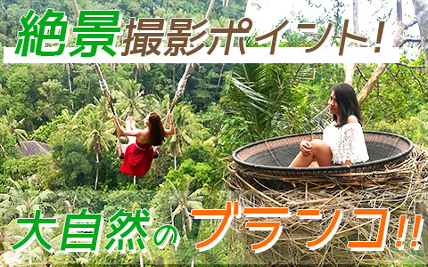 バリ島 厳選アクティビティ Uma Pakel Bali Swing