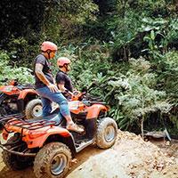 バリ島 ABIANSILA ADVENTURES ATVライド 自然