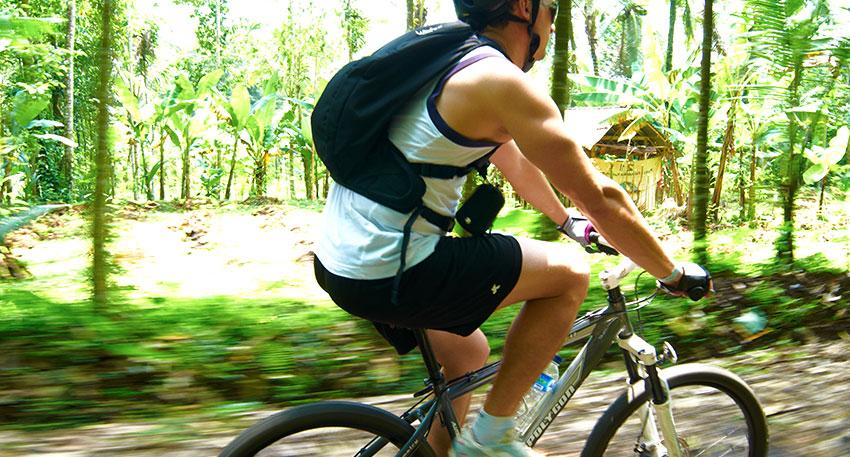 バリ島の自然を堪能できるサイクリング