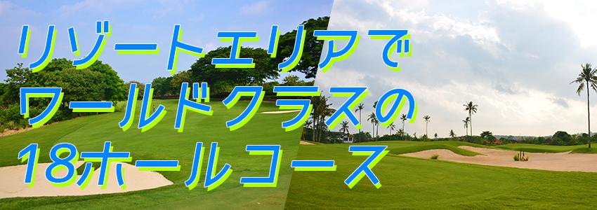 バリ島 バリ ナショナル ゴルフ クラブ 特徴