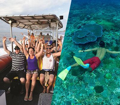 バリ島 バリハイ 3島オーシャンラフティングクルーズ 画像