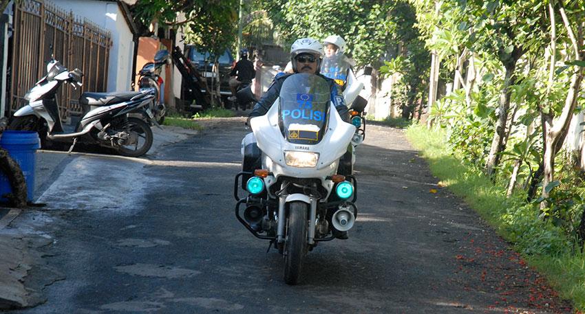 不安のあるバリ島の道路も安心して移動することができます